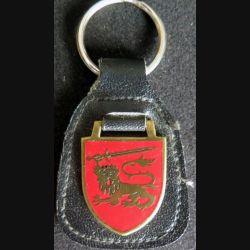 Porte clefs du centre d'instruction des opérations spéciales espagnol sur cuir