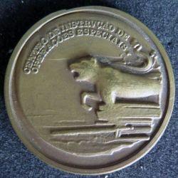 Médaille du centre d'instruction des opérations spéciales espagnol diamètre 3,8 cm