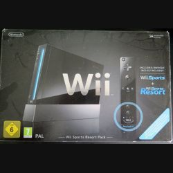 Console complète WII Sports resort Pack (C204)