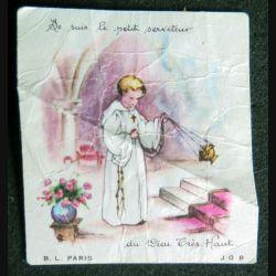 carte de communion solennelle dédicacée