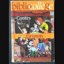 Contes de Grimm écrit par Marie-Hélène Robinot-Bichet aux éditions Classique Hachette - F006